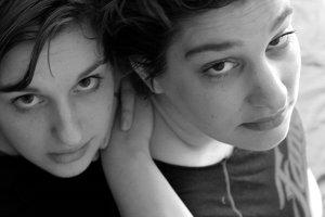 Karlijn & Marije (vlnr)